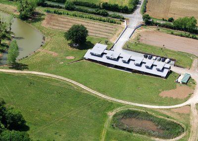 Domaine de la martiniere - galerie photo - vue aérienne